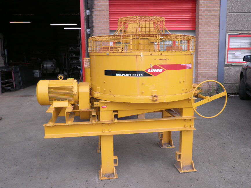 Liner Rolpanit FE220/600 Roller Pan Mixer image