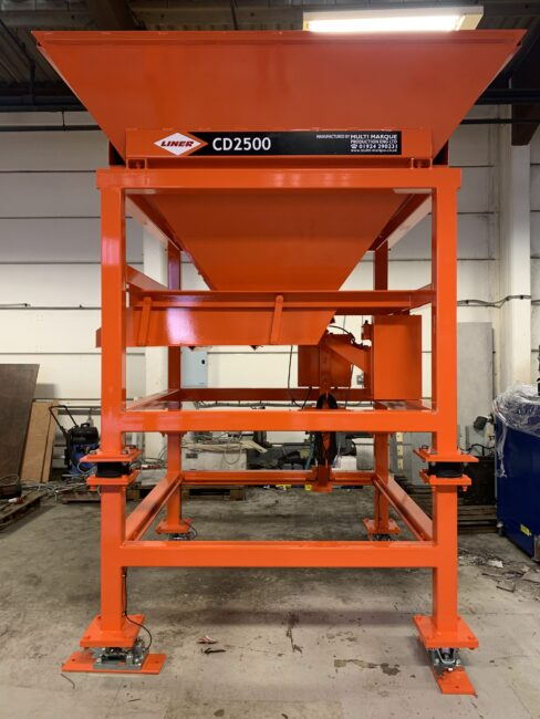 CD2500 Controlled Discharge Hopper image